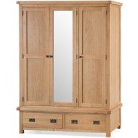 Read more about Sydney three door wardrobe with mirror