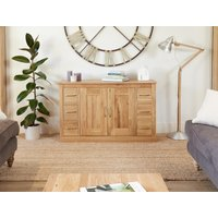 Read more about Rhone solid oak 6 drawer sideboard