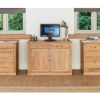 Read more about Rhone solid oak hidden home office