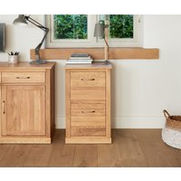Read more about Rhone solid oak 2 drawer filing cabinet