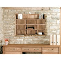 Read more about Rhone solid oak reversible wall rack