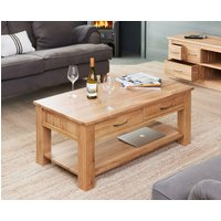 Read more about Rhone solid oak 4 drawer coffee table
