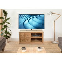 Read more about Rhone solid oak 4 drawer television cabinet
