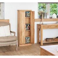 Rhone Solid Oak DVD Storage Cupboard