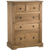 Corey 3 + 2 Drawer Chest Pine