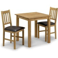 Read more about Banbury oak kitchen table with 2 chairs