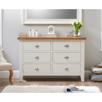 Read more about Eden oak and white 6 drawer chest