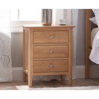 Read more about Sadie oak large bedside table