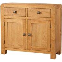 Avalon Oak 2 Door 2 Drawer Sideboard