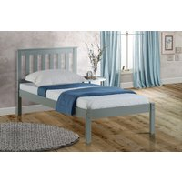 Florida Grey Low End Single Bed