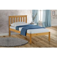 Florida Pine Low End Single Bed