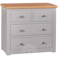 Read more about Devonshire diamond painted 2 over 2 drawer chest