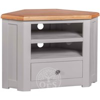Read more about Devonshire diamond painted corner tv cabinet
