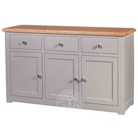 Read more about Ex-display devonshire diamond painted large sideboard
