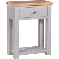 Read more about Devonshire diamond painted small hall table