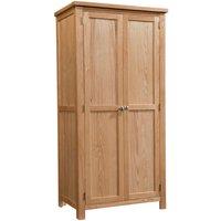 Lulworth Light Oak Double Wardrobe