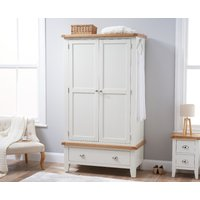 Read more about Eden oak and white large two door wardrobe