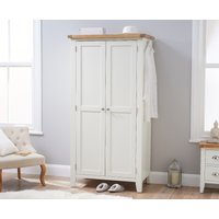 Read more about Eden oak and white two door wardrobe