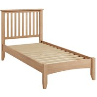Read more about Skylar light oak single bed