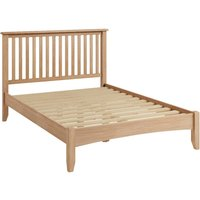 Read more about Skylar light oak king size bed