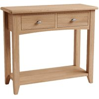 Read more about Dante solid oak console table