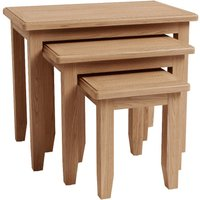 Read more about Dante nest of 3 solid oak tables