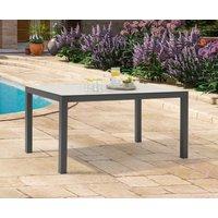 Product photograph showing Gardenia 150cm Light Grey Garden Table