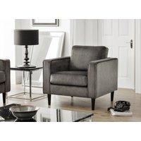 Read more about Hazel grey velvet armchair