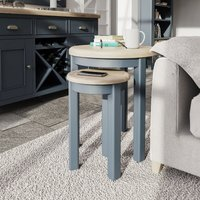 Product photograph showing Scarlett Round Nest Of Tables