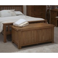 Read more about Bramley oak blanket box
