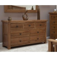 Bramley Oak 7 Drawer Chest