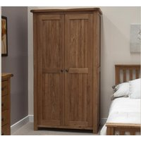 Bramley Oak Double Wardrobe