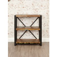 Product photograph showing Downtown Modern Low Bookcase