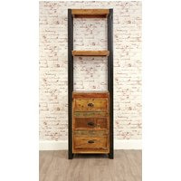 Read more about Downtown modern alcove bookcase -with drawers-