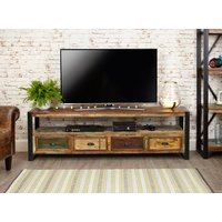 Read more about Downtown modern open widescreen television cabinet