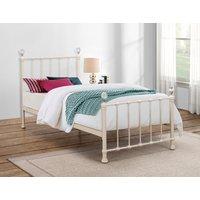 Kansas Cream Single Bed