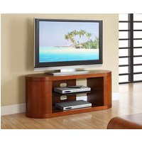 Read more about Corsair walnut oval tv unit