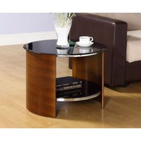 Read more about Corsair walnut round side table