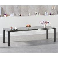 Joseph Extending Dark Grey High Gloss Dining Table
