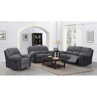 Kendal Grey Fusion 3 Seater Sofa