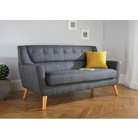 Product photograph showing Lido Grey Large Sofa