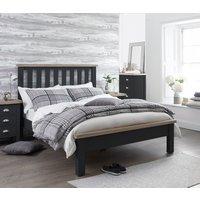 Eden Oak and Grey Single Bed