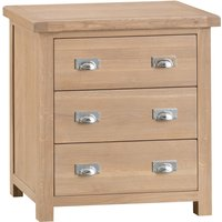 Read more about Rose oak 3 drawer chest of drawers