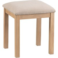 Product photograph showing Rose Oak Stool