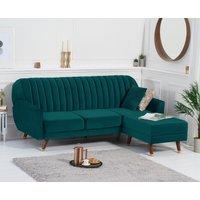 Lucia Sofa Bed in Green Velvet