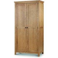 Product photograph showing Minnesota Oak 2 Door Wardrobe