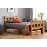 Michigan Antique Pine Single Bed