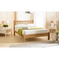 Read more about Milano solid oak low foot end double bed