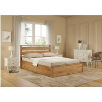 Modena Oak Ottoman Bed