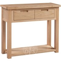 Read more about Melrose oak console table